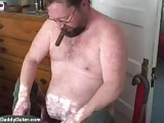 Bear Cigar Top Fucking Face