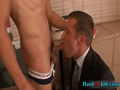 Gianni And Trevor Fucking Ass And Sucking Cock At Work 2 By HardOnJob