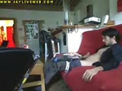 Spying Me Wanking On Webcam