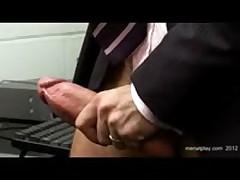 Office Gay Sex