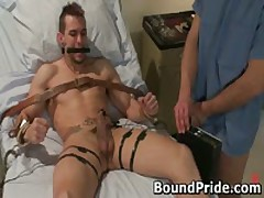 Beefed Jason And Penix In Extreme Homosexual Fetish 5 By BoundPride