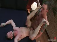 Cliff And Troy In Horny Extreme Gay Bondage Fetish Movie 12 By BoundPride