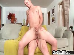 Fucked And Sucked On Couch 7 By GotExBF