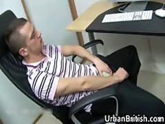 Kristian Kerner Pulling His Firm Queer Adolescent Dick 1 By UrbanBritish