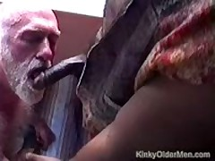 Bear  Fucked By Hung Black Guy