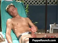 Extreme Homo Hard Core Poopshute Making Out At The Pool Homo Video 1 By PappaRaunch