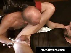 Gay Dude Gets His Tight Anus Fisted 5 By HDKfisters