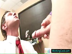 Sucking Off And Making Out On The Job By Workingcock
