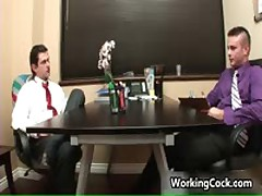 Matthew Singer Fucks And Sucks In Work Three By WorkingCock
