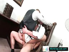 Shane Gets Some Obese Schlong Up His Stinker By WorkingCock