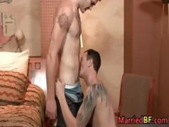 Married Straight Guy Sucks Some Stiff Boner 2 MarriedBF