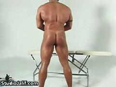 Muscled Gay Hunk Rob Diesel Jerking His Big Cock 4 By StudioJalif