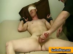 Gay Clip Of Cory Gets His Amazing Dick Played With Toy 4 By GushedBoys