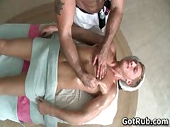 Dude With Perfect Body Gets Gay Rubbing 4 By GotRub