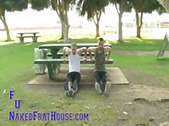 Jocks Pissing Exercise