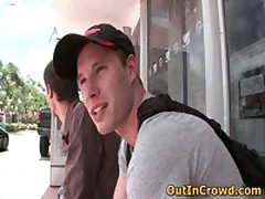 Young Dudes Having Gay Sex In The Bus 1 By OutInCrowd