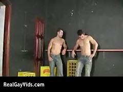 Aroused Spanish Homosexual Manage A Trios Three By RealGayVids