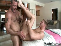 Dude With Perfect Body Gets Gay Rubbing 6 By GotRub