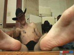 Hot Cowboys Jerking