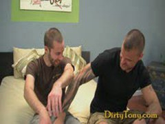 Tattooed Leather Stud Gets His Revenge