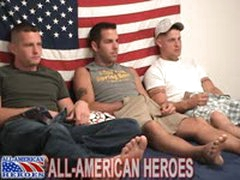 Military Threeway Suck And Fuck