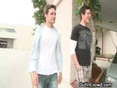 Amazing Outdoor Gay Fucking 3 By OutInCrowd