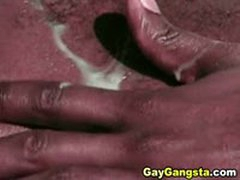 Hot Black Male Lovers In A Steamy But Fucking Scene