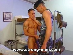 Horny Military Orgy