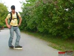 Skater Dudes Three-Some Pt. 1