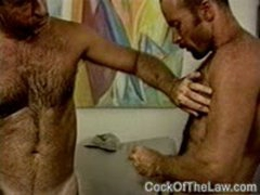 Older Handyman Fucks A Cop