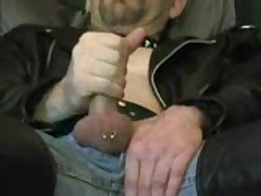 Leather Jerk-Off